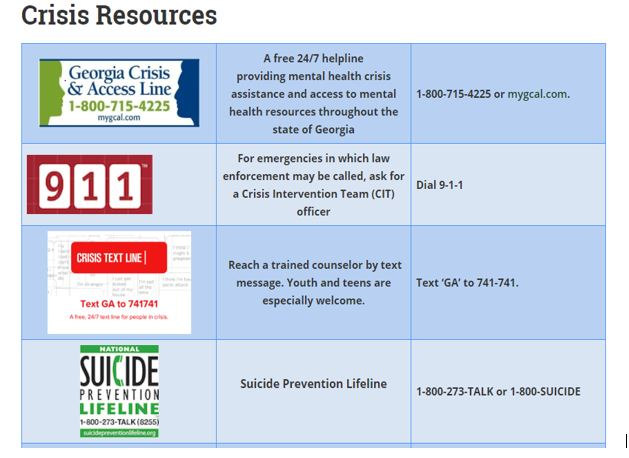 Family Crisis Resources